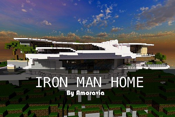 Iron Man House Tony Stark House With Iron Man House Best