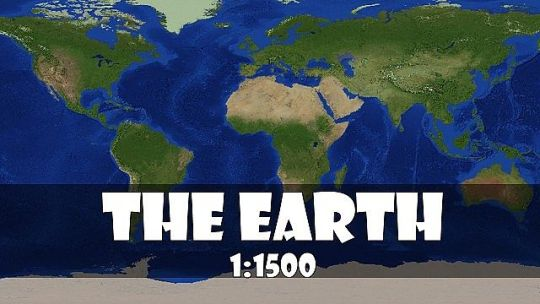 The recreation of the Earth 1 1500 scale  version2 1   Minecraft Project Updated on Dec 24  2013  12 31 69 7 33 33 pm   5 logs  Published on Jan 4   2013  1 4 13 2 16 pm