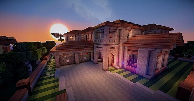 Spanish Style Mansion Minecraft Project