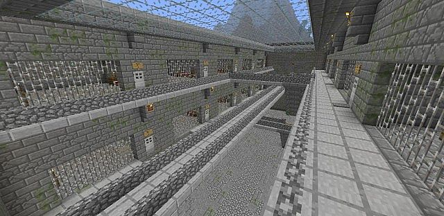 Prison Break Minecraft Map