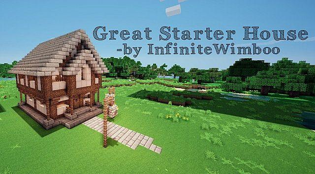 Great Starter House Vanilla Minecraft Project