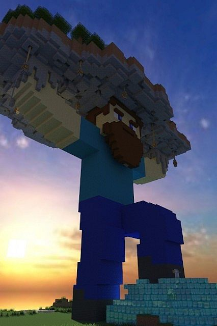 Steves Mansion Minecraft Project