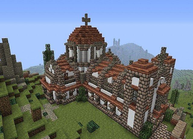 Roman Church Minecraft Project