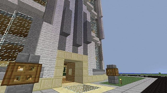 Stark Tower Inspired By IRL Images Minecraft Project