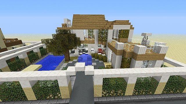 Minecraft Modern Village Minecraft Project