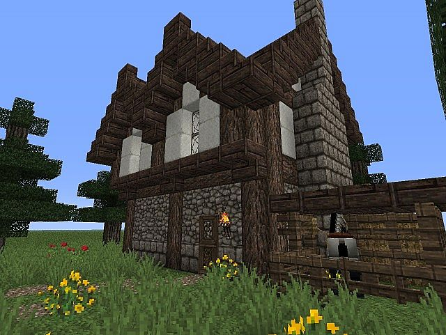 Small House Design Minecraft Project