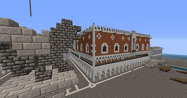 Venice Doges Palace Minecraft Project