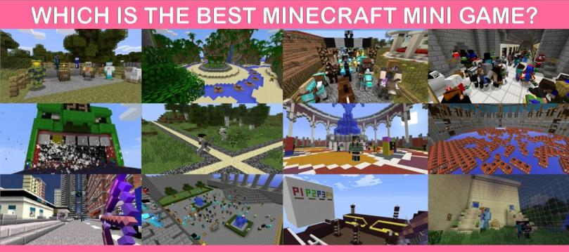 Which Is The Best Minecraft Mini Game  Minecraft Blog Which Is The Best Minecraft Mini Game