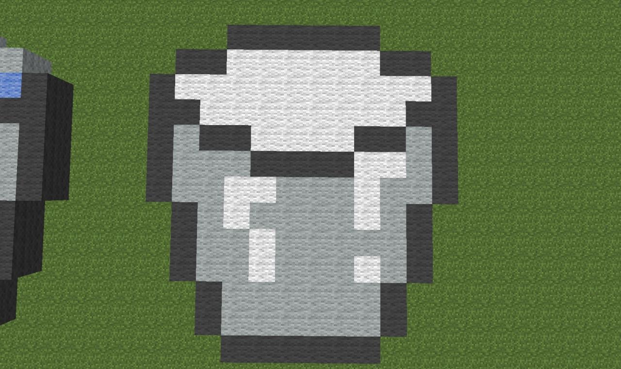 Minecraft Milk Bucket Skin MilkBucket