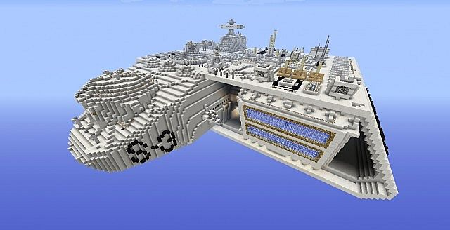 Ormaughs Spaceship 162 Minecraft Project