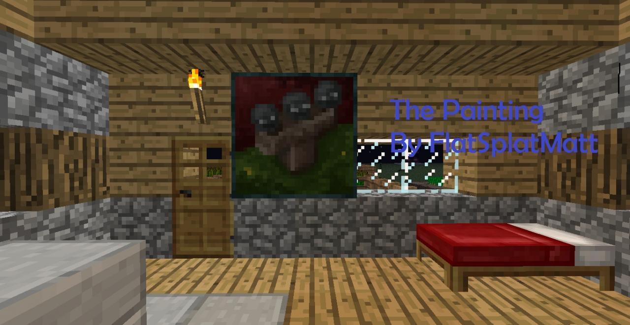The Painting A Minecraft Creepypasta Minecraft Blog