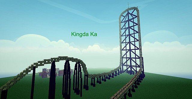 Kingda Ka ROLLERCOASTER 164 Minecraft Project