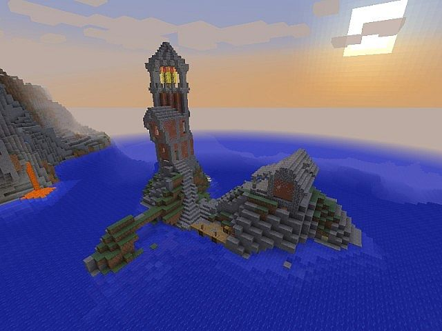 Lighthouse Island Minecraft Project