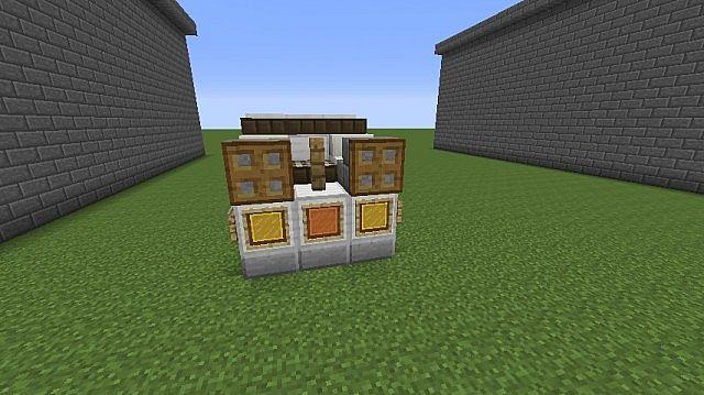 Back To The Future Delorean Minecraft Project