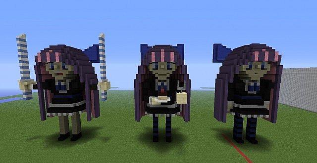 Stocking Anarchy Chibi Statue Minecraft Project
