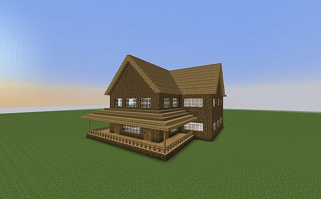 Old Fashioned House Minecraft Project
