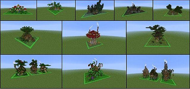 DrBonds NatureFantasy Build Bundle Minecraft Project