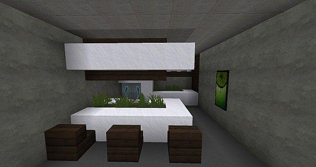 Modern interior Minecraft Map
