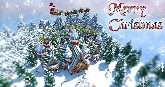 Santas Workshop Christmas Special Minecraft Project