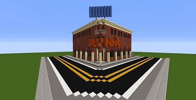 Flynns Arcade Tron Legacy Minecraft Project