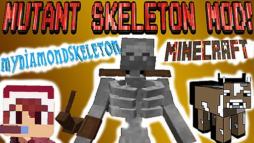 MINECRAFT MUTANT SKELETON Mod Mutant Creatures New
