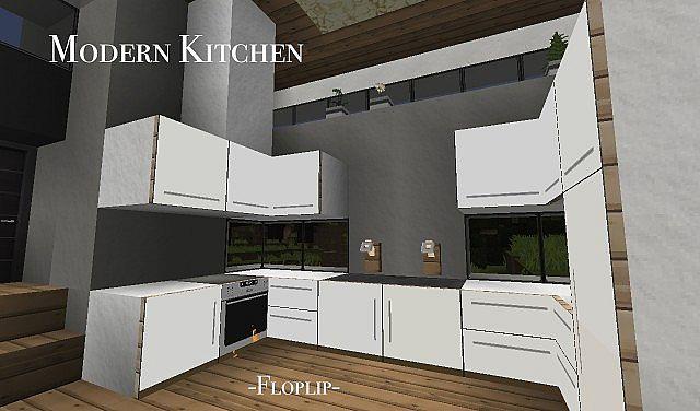 Modern Kitchen Design Minecraft