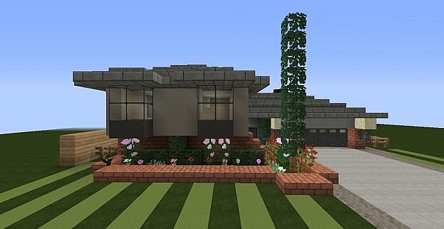 3 Level 1970s Split Level House Minecraft Project