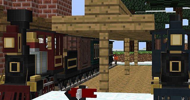 Traincraft Scenic Rail Journey Minecraft Project