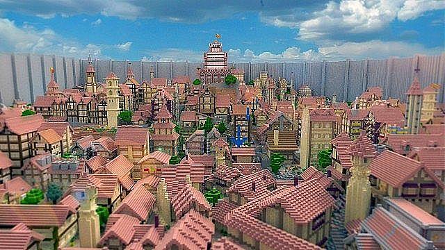 Shingeki No Kyojin Attack On The Minecraft Minecraft Server