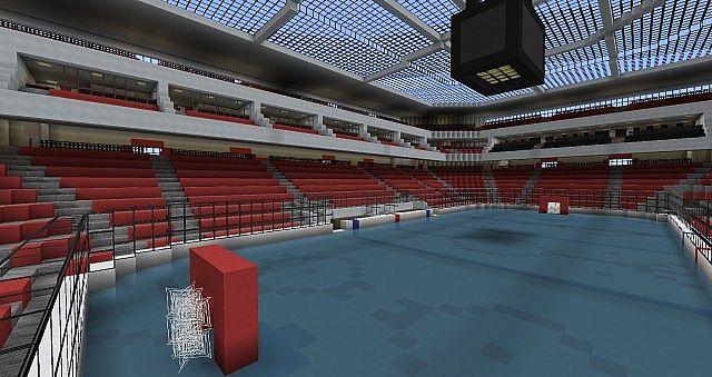 Hockey Arena Minecraft Project