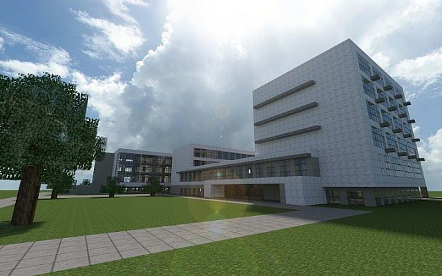 Bauhaus School Of Architecture Modernist Build Minecraft Project