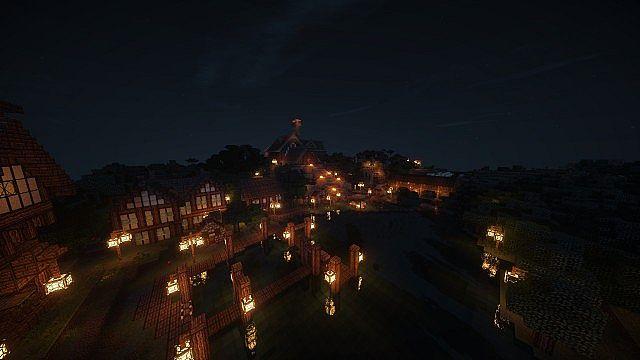 Adventure Map Skyrim Minecraft