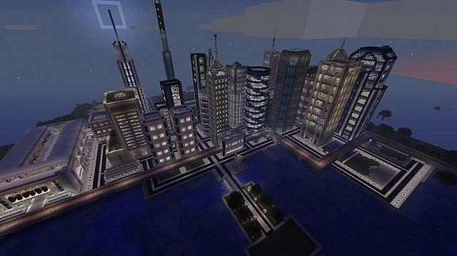 Derksville Axostis Swamp City Minecraft Project