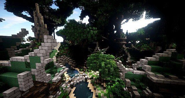 Elven Map Pack Download Gazamo Minecraft Project