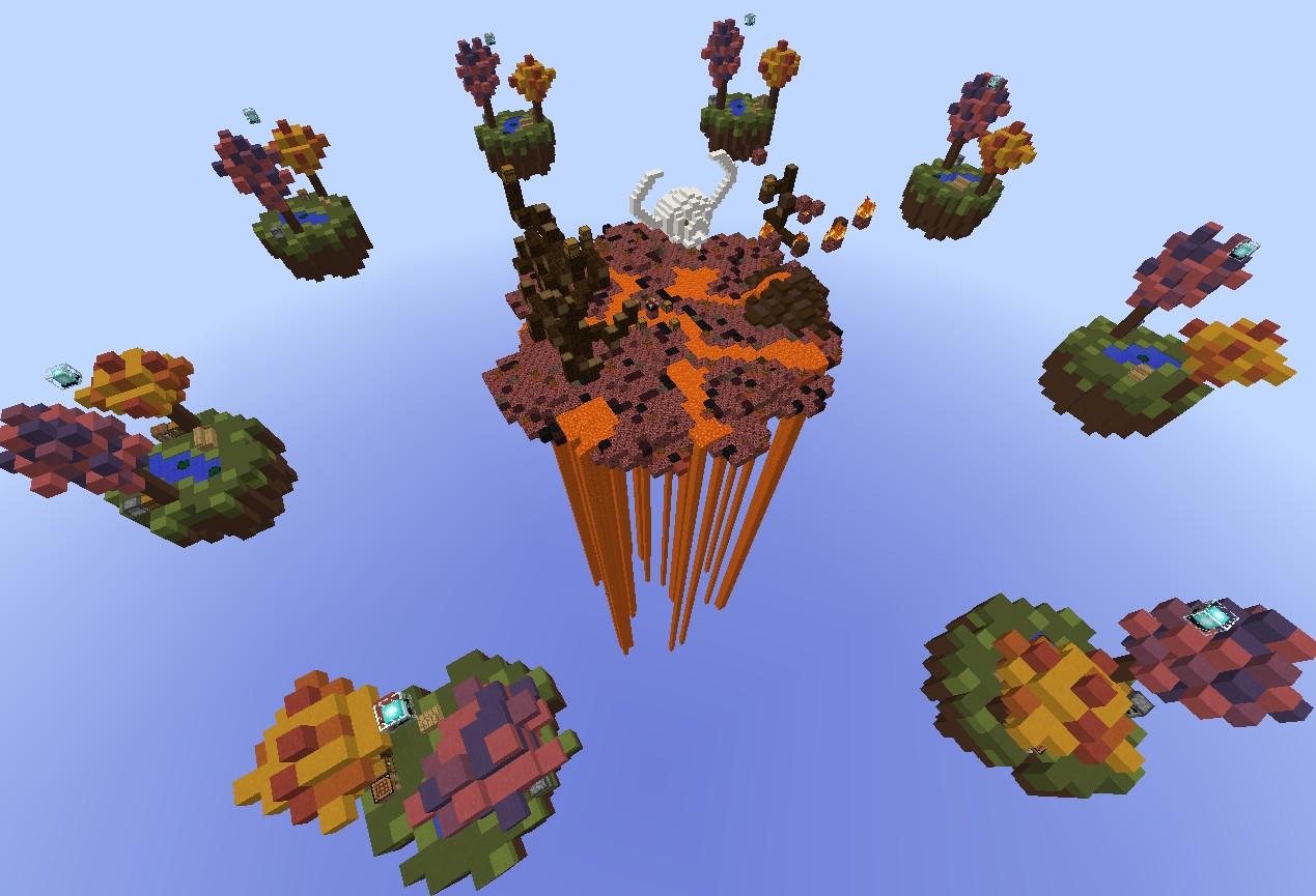 Skywars Map WasteLand Minecraft Project