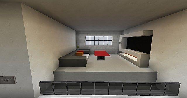 Modern Interior Design Minecraft Project