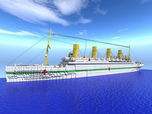 HMHS Britannic Outdated Minecraft Project