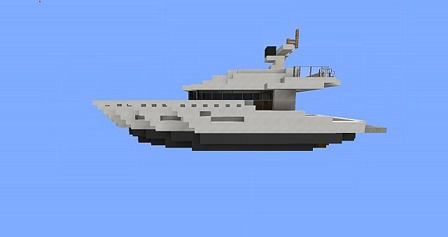 Astral Small Yacht Minecraft Project