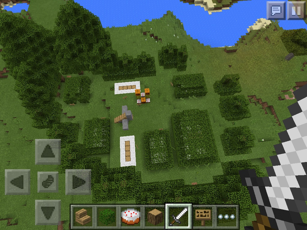 ThunderClan Camp Minecraft Project
