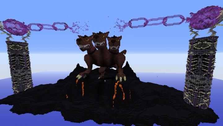 Cerberus The HellHound Minecraft Project