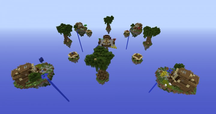 BedWars Map Download 4 Teams Minecraft Project