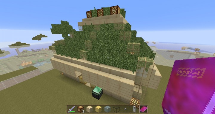 Teleport Room With JSON Book Command Block Minecraft Project