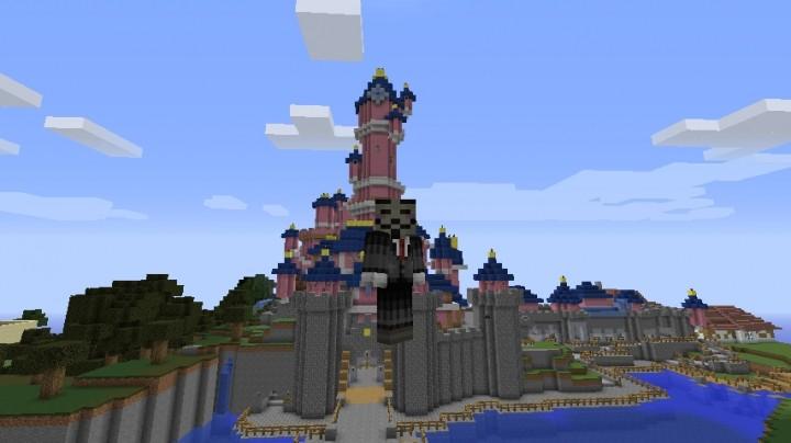 DisneyLand Paris MAP Minecraft Project