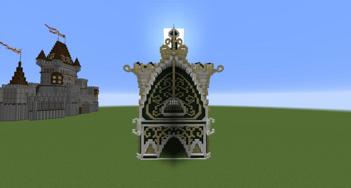 Elven Temple Minecraft Project