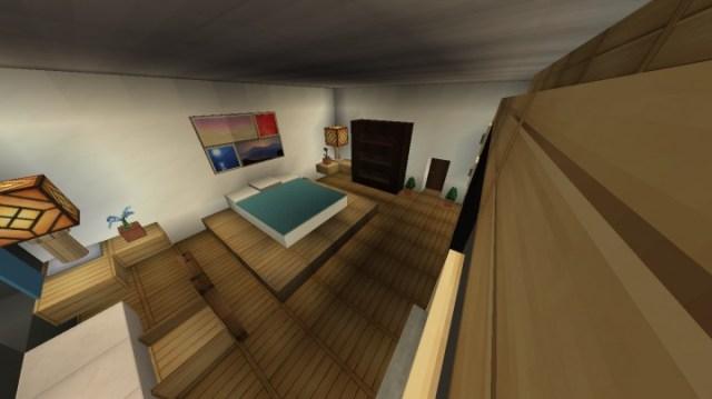 Furniture-Modern Bedroom Design Minecraft Map