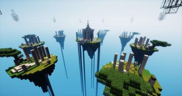 Sky-Greek Temple - A Minecraft Sky Wars Map [1.7 -1.8 ...