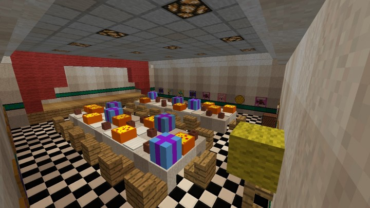 Five Nights At Freddys 2 Minecraft Project