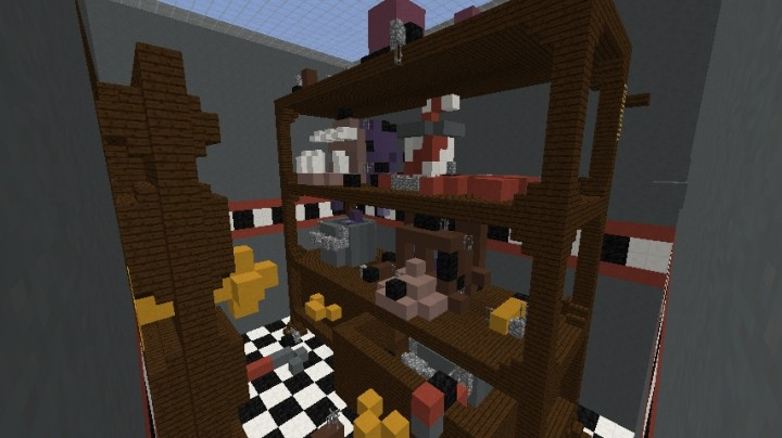 FNAF Security Room Hide And Seeke Minecraft Project