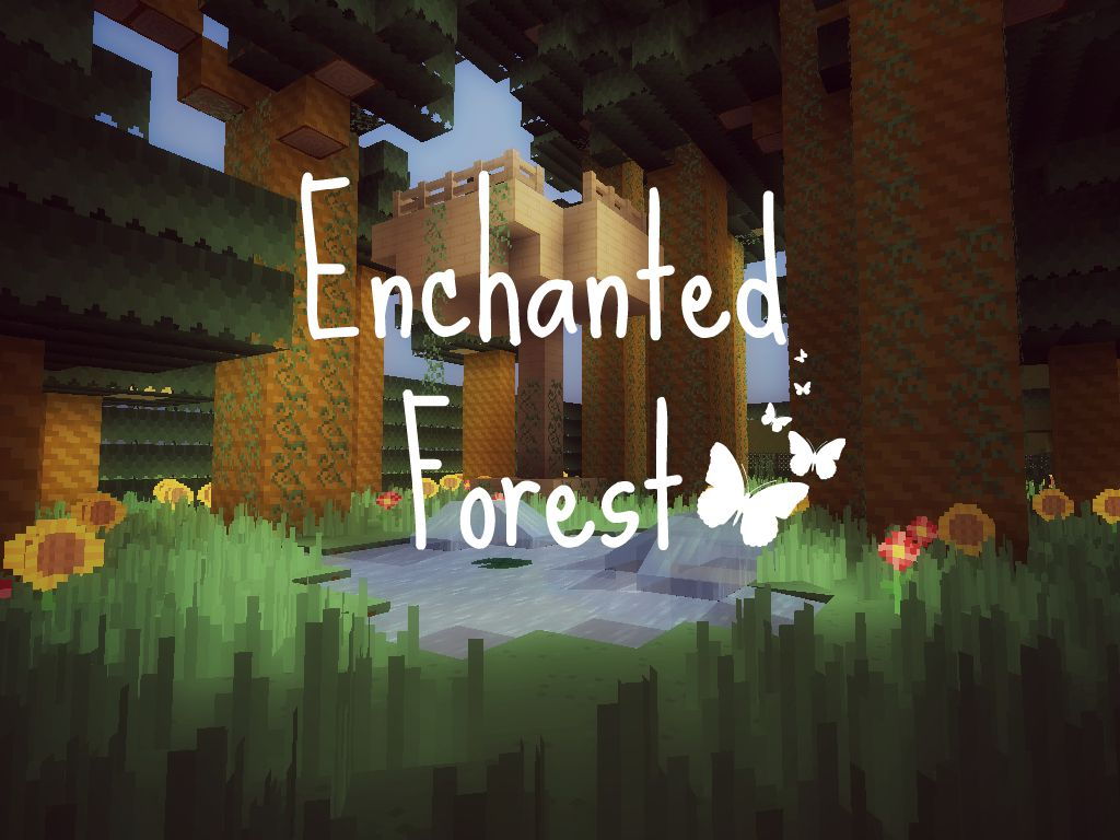 Hide And Seek Enchanted Forest Minecraft Project
