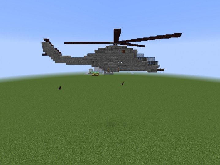 Mil Mi 24 Hind Minecraft Project